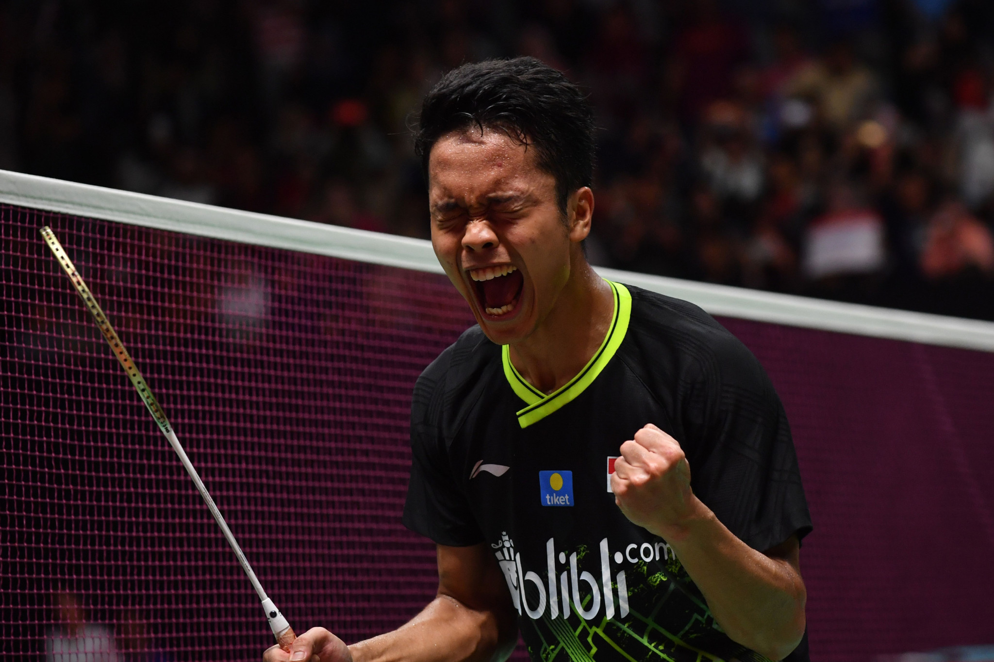 Ginting wins men's title on home soil at BWF Indonesia Masters