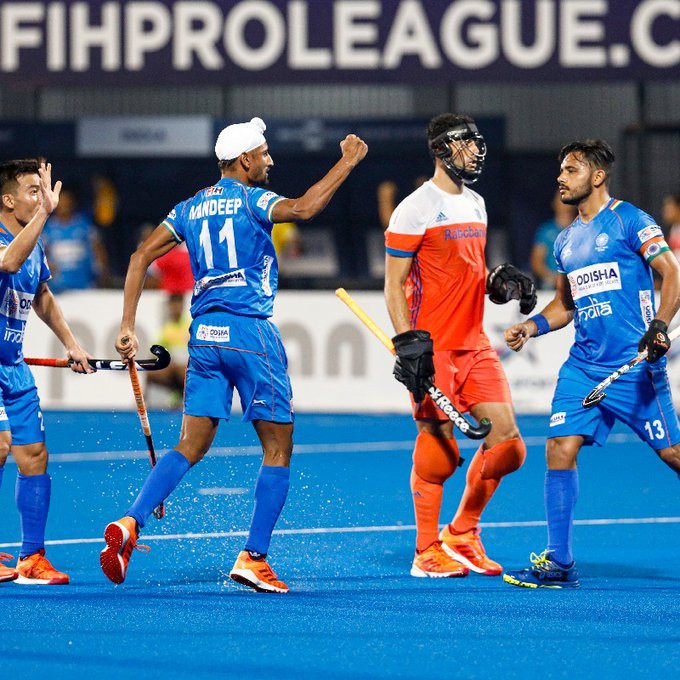 India achieve Dutch double after shoot-out win at Men's FIH Pro League