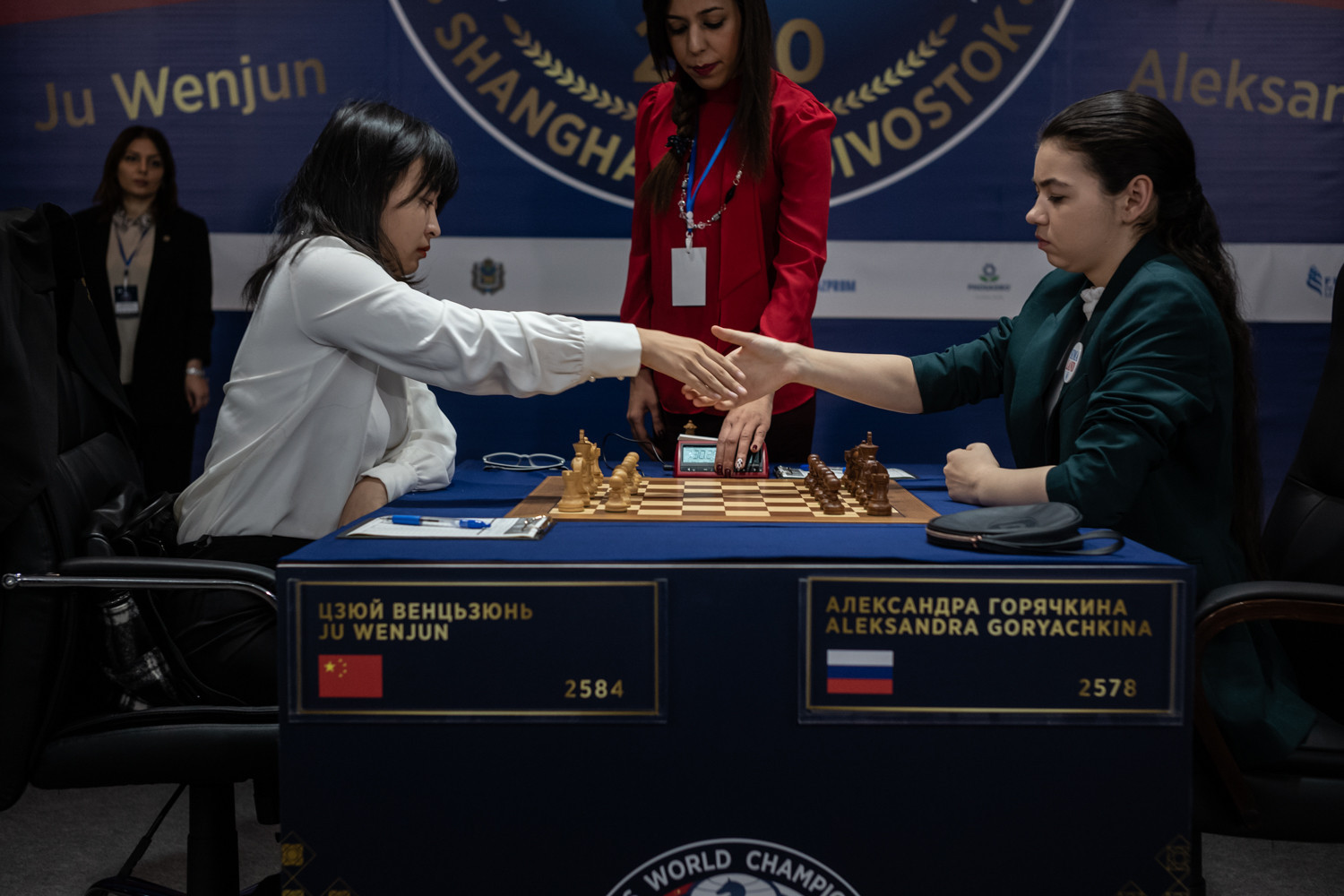 Ju strikes straight back at Women's World Chess Championship
