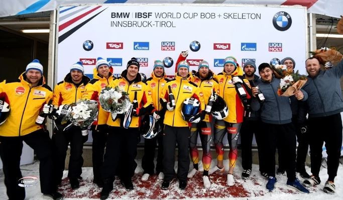 Friedrich extends IBSF World Cup lead after four-man bob win in Innsbruck