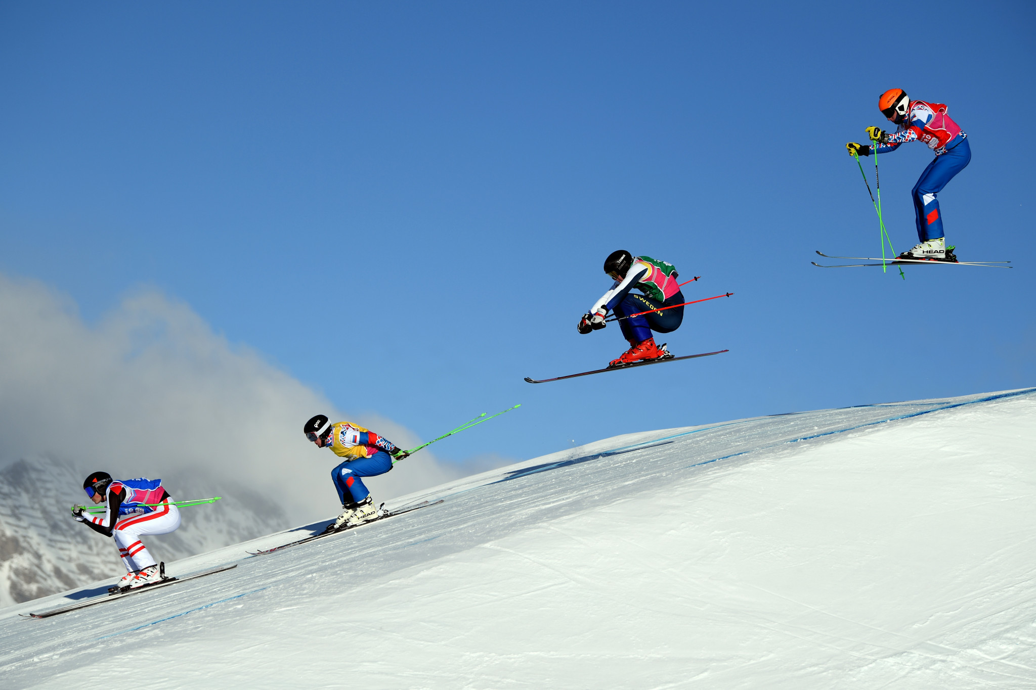 Ski cross was among the highlights on day 10 at Lausanne 2020 ©Getty Images