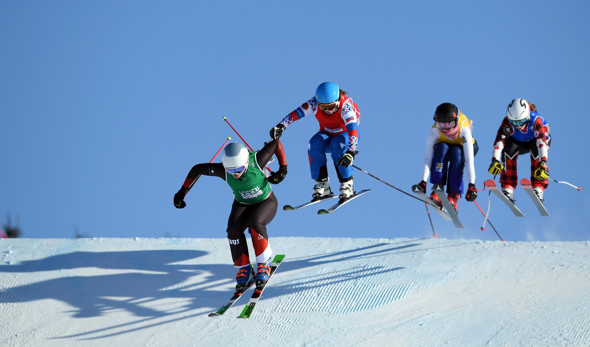 Marie-Karoline Krista won the women's ski cross final ©Getty Images