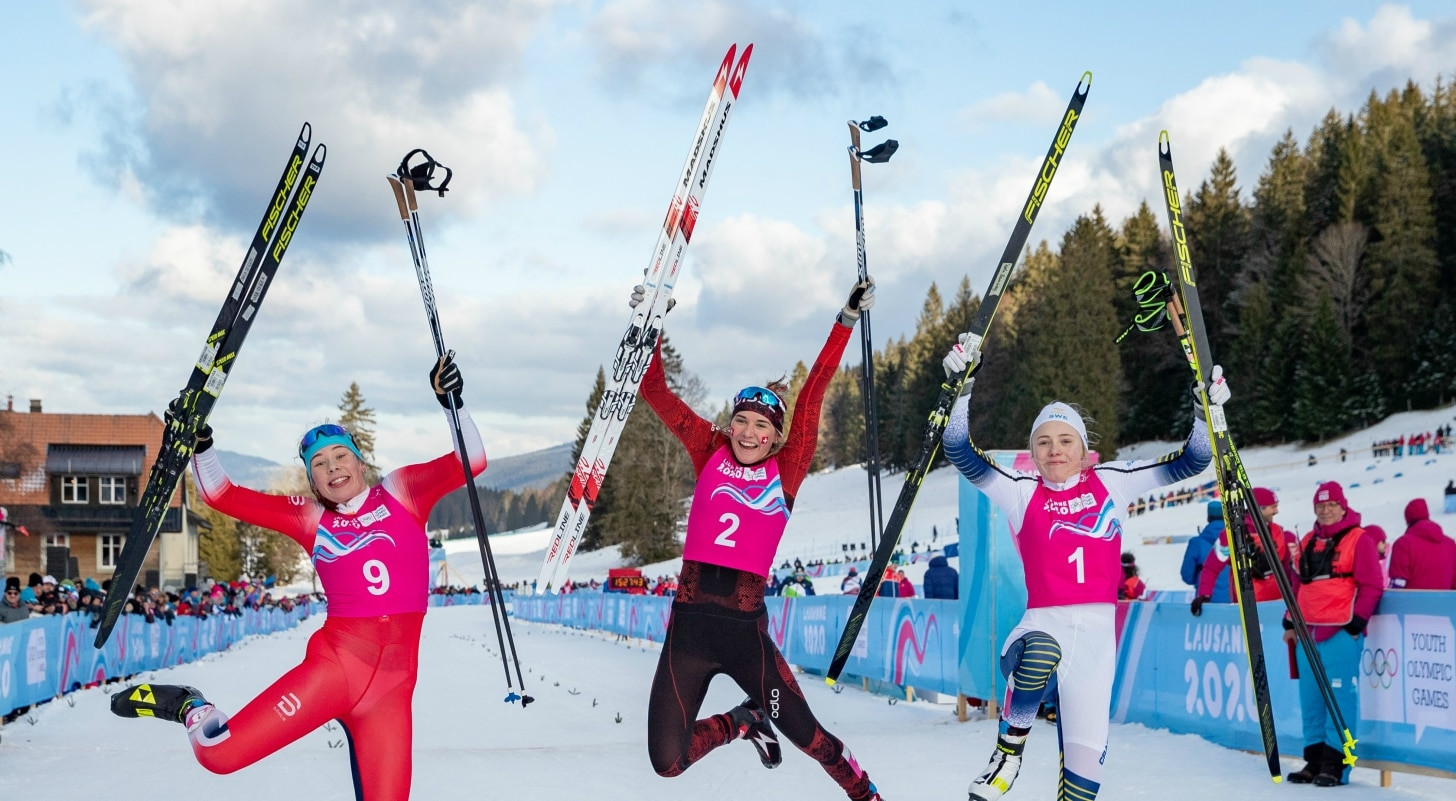 Siri Wigger sealed her second gold medal at Lausanne 2020 to the delight of the Swiss crowd ©OISphoto