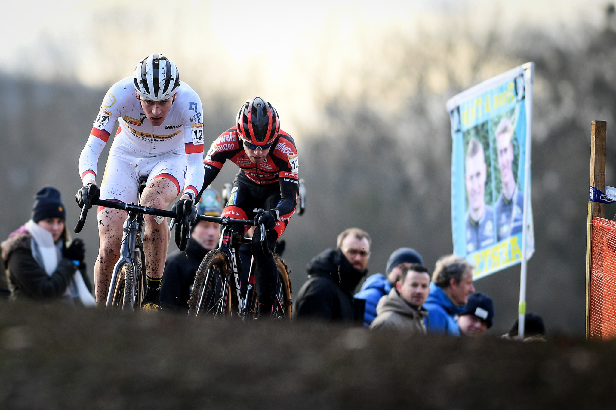 Aerts set to be crowned UCI Cyclo-cross World Cup winner for second year despite Nommay defeat
