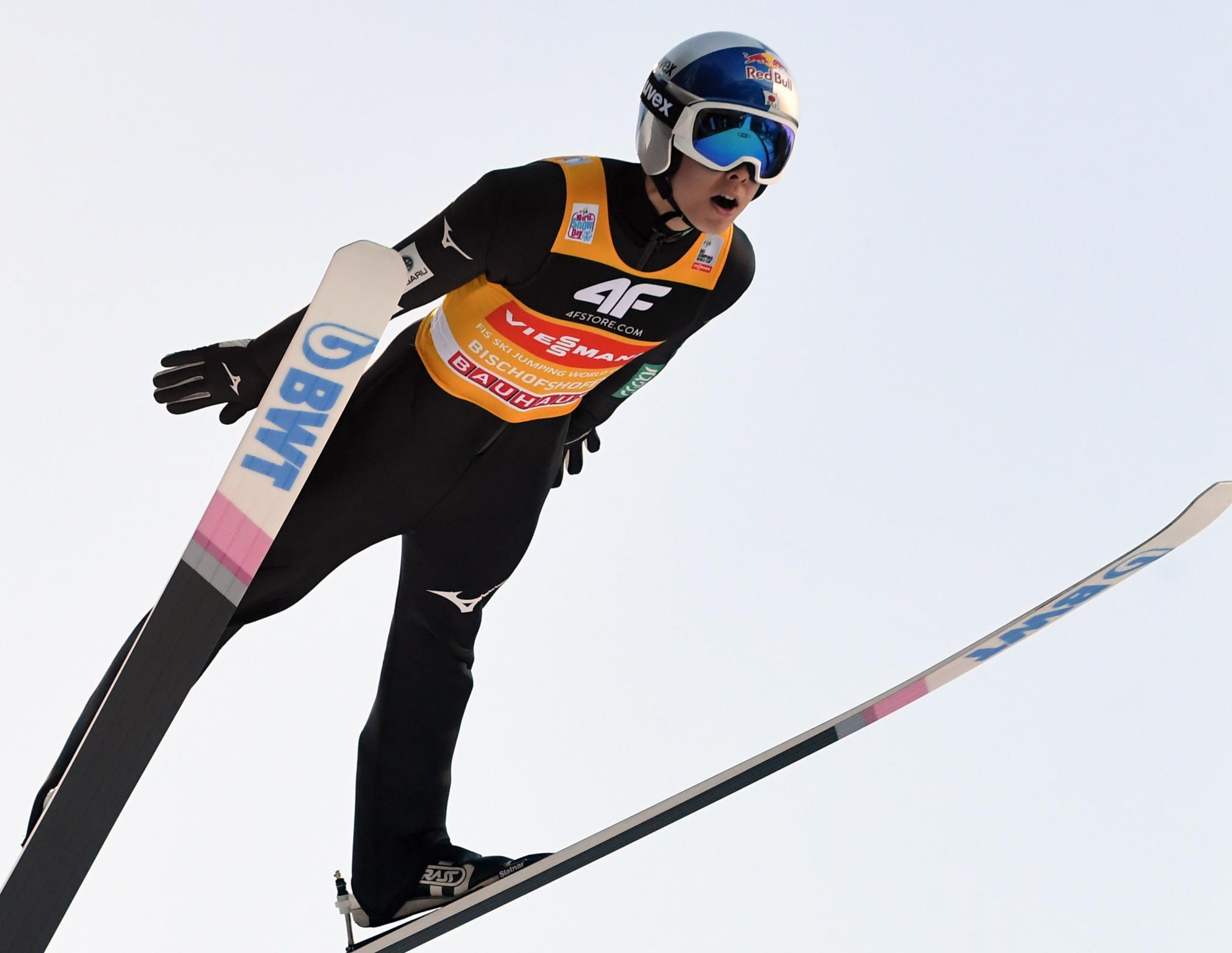 Ryoyu Kobayashi of Japan finished second ©Getty Images