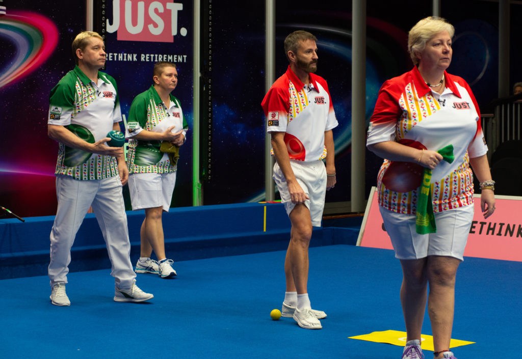 Finalists in mixed pairs at World Indoor Bowls Championships decided