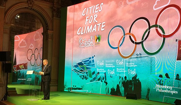 IOC President calls on 2024 Olympic bid cities to demonstrate sustainable development at conference in Paris