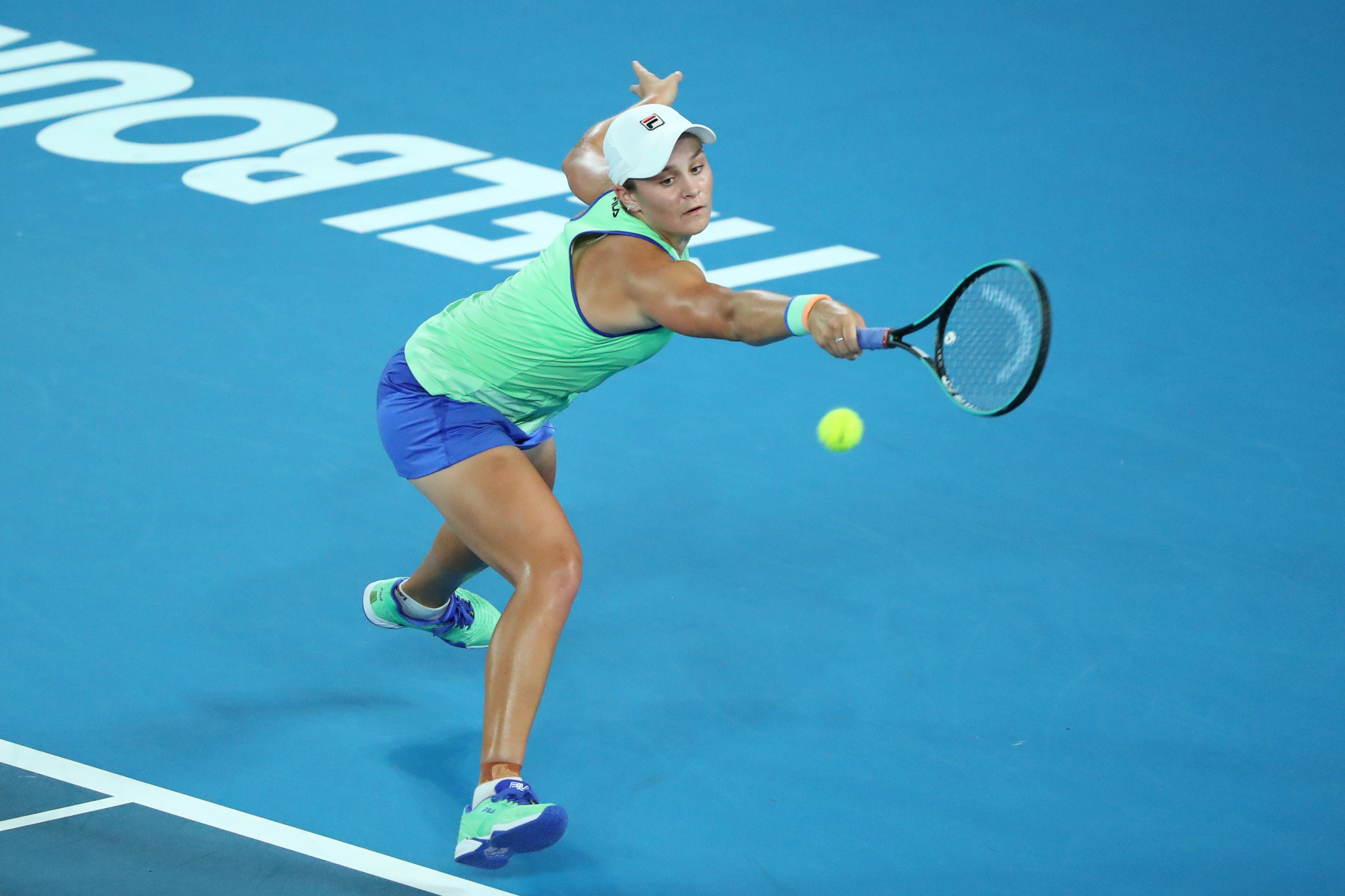 Australia's world number one Ashleigh Barty came from behind to go through ©Getty Images