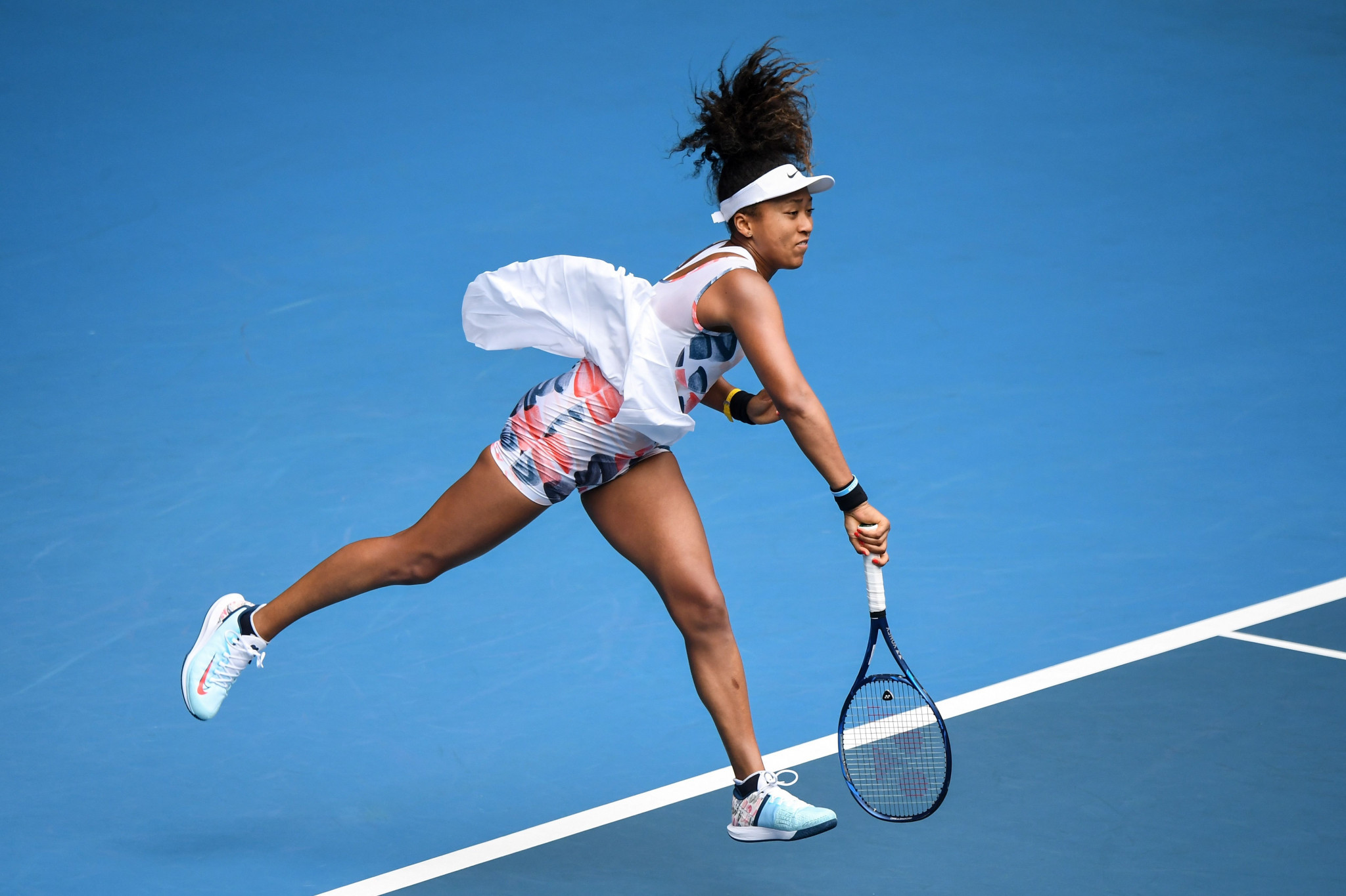 Japan's defending champion Naomi Osaka breezed through ©Getty Images
