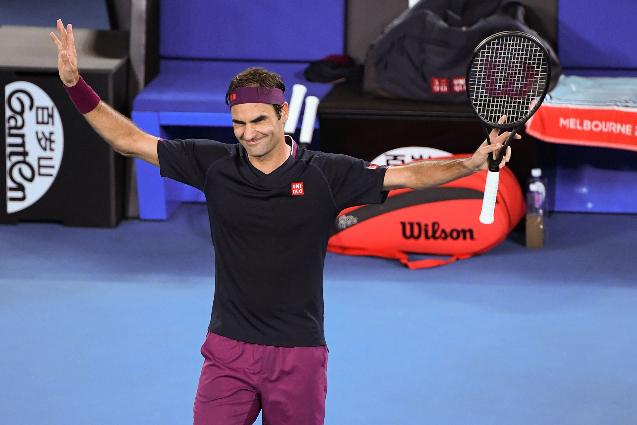 Swiss icon Roger Federer was a comfortable winner ©Getty Images