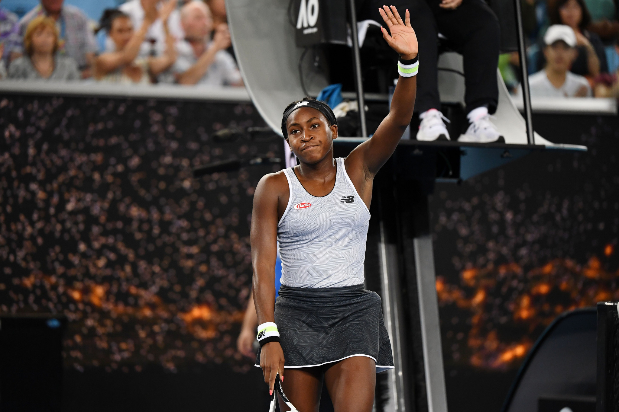Fifteen-year-old Coco Gauff earned another victory over Venus Williams ©Getty Images