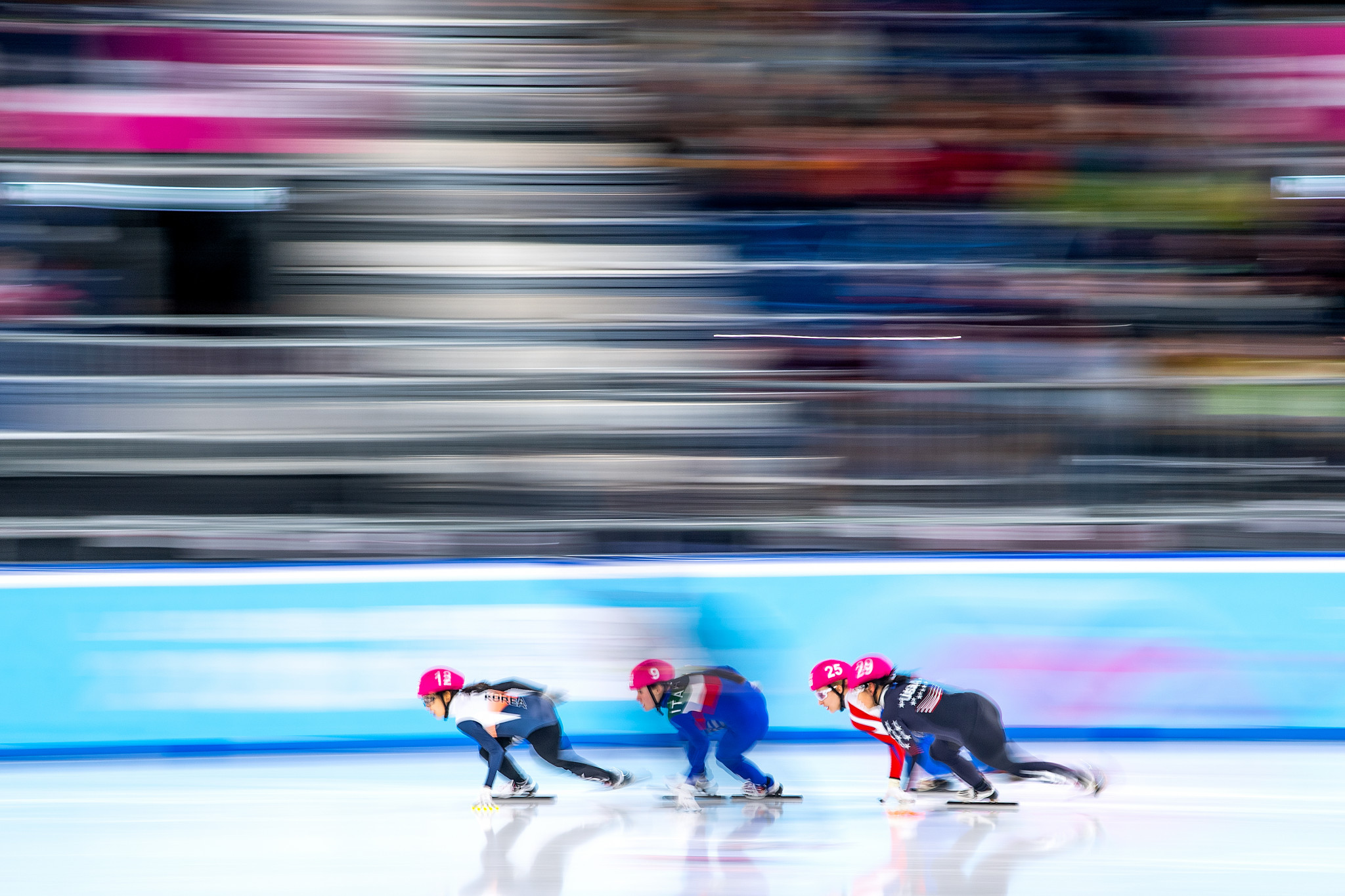 South Korea continued their short track domination ©Getty Images