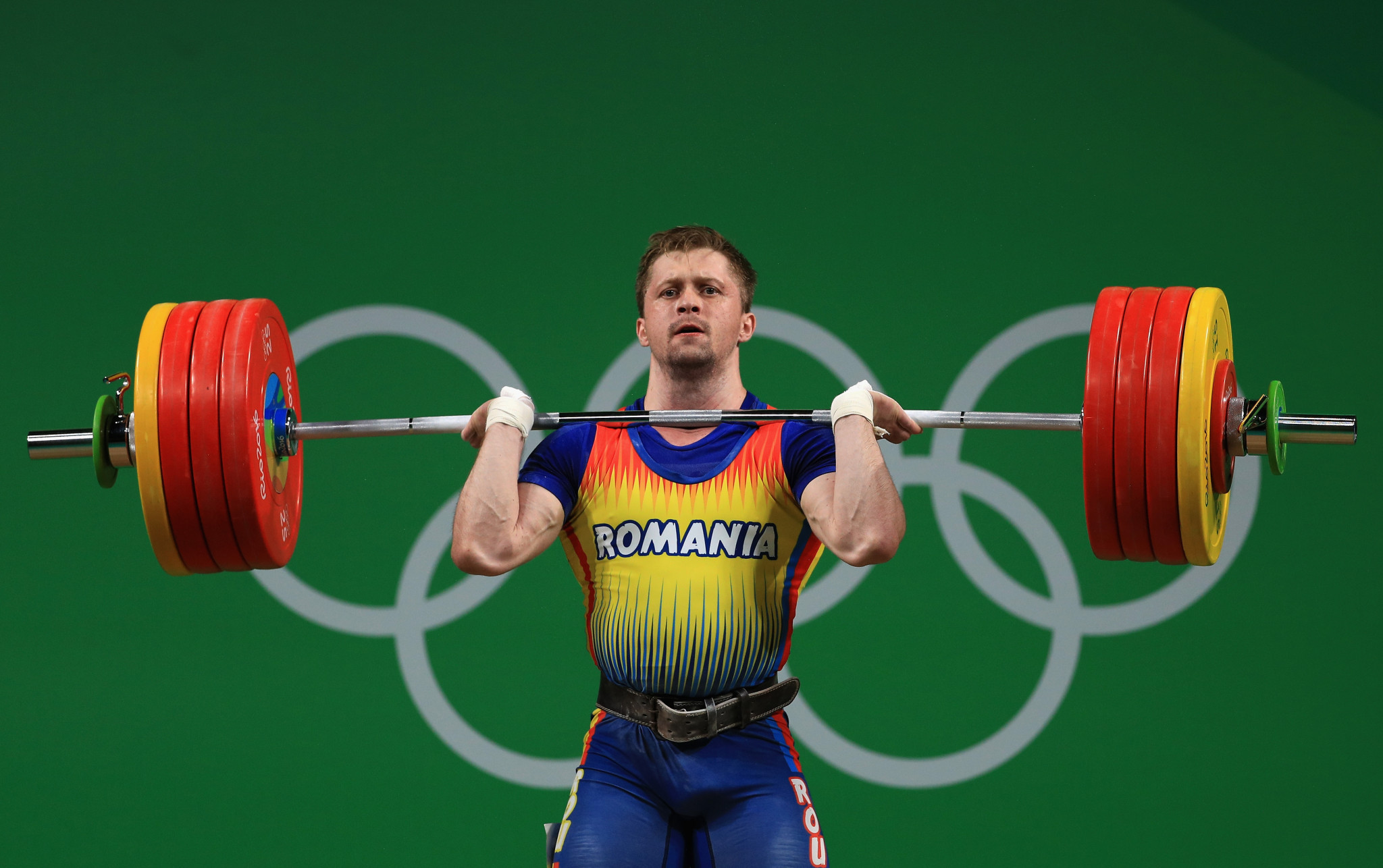 All four of Romania's weightlifters at London 2012 have now tested positive for drugs following news that a reanalysis of Gabriel Sîncrăian's sample has shown traces of anabolic steroids ©Getty Images