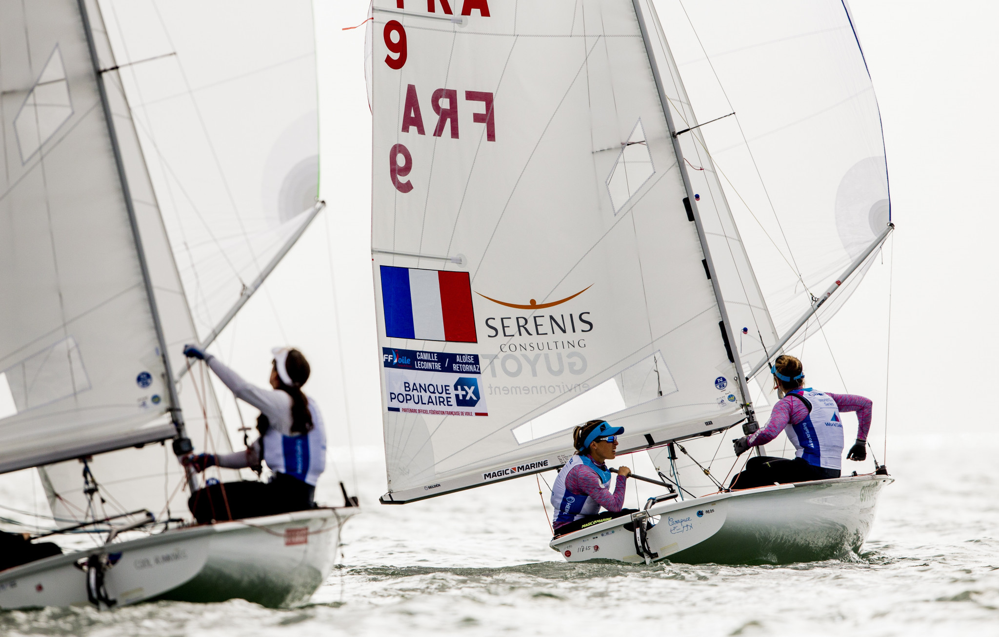 Olympic hopefuls Lecointre and Retornaz start strongly at Sailing World Cup in Miami