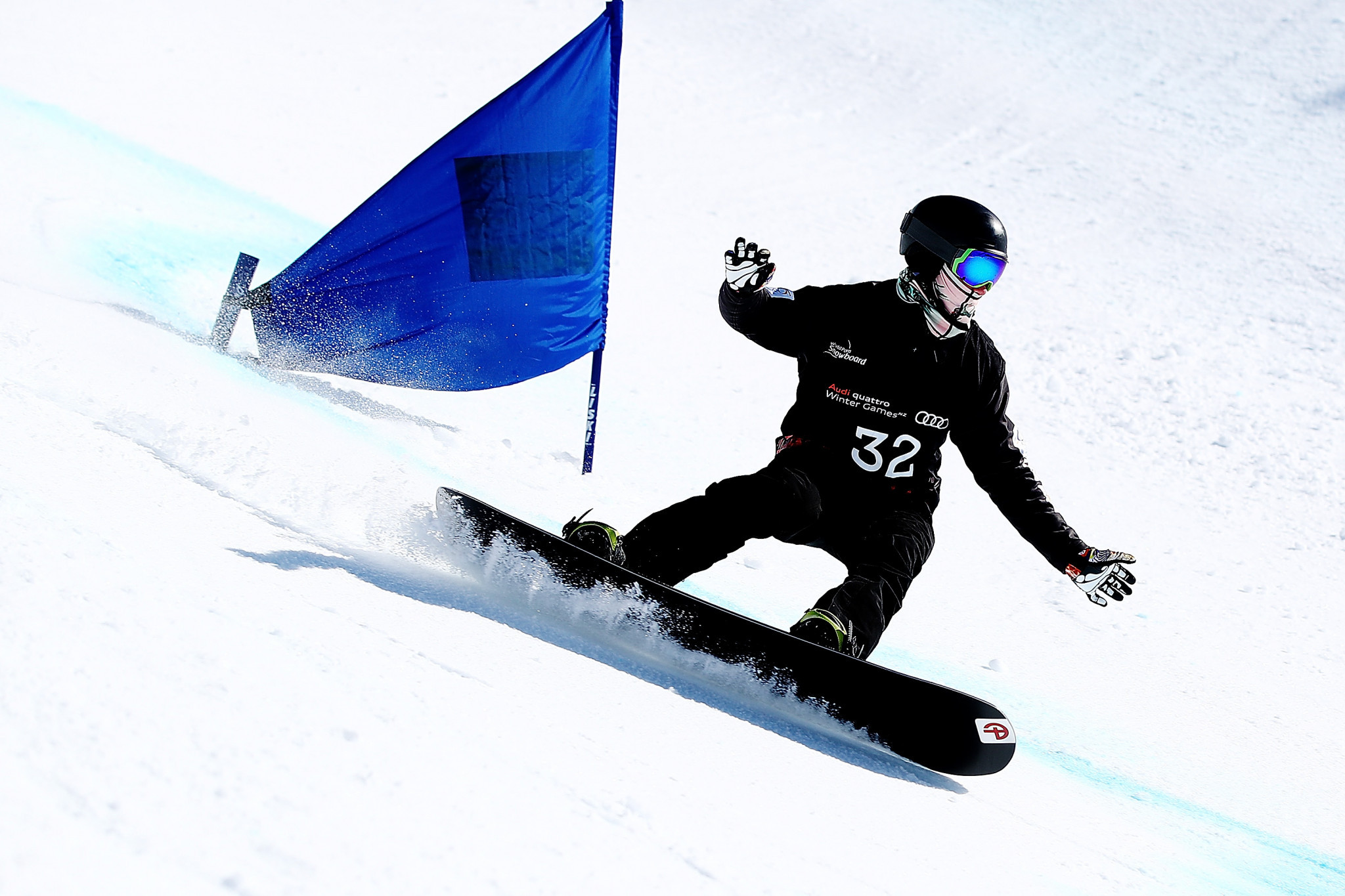 Snowboarder Tudhope named IPC Allianz Athlete of the Month for December