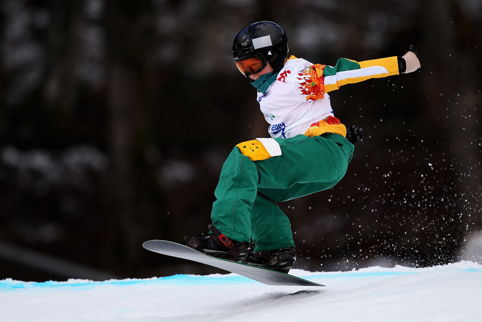 Ben Tudhope was only 14 when he appeared at the Sochi 2014 Winter Paralympics ©Getty Images