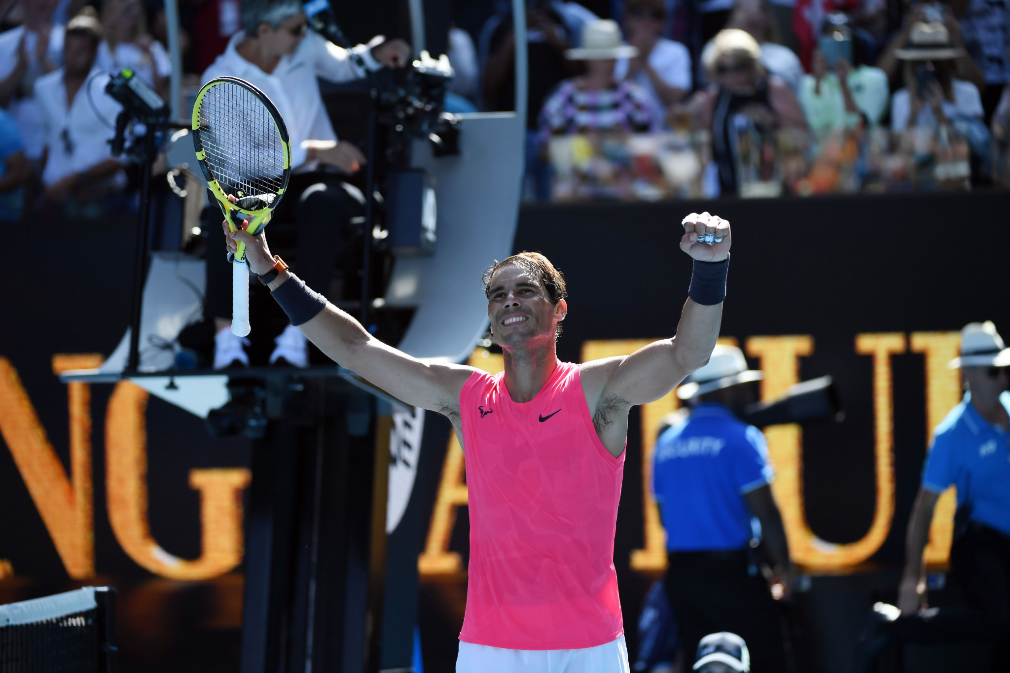 Nadal breezes through first-round clash at Australian Open