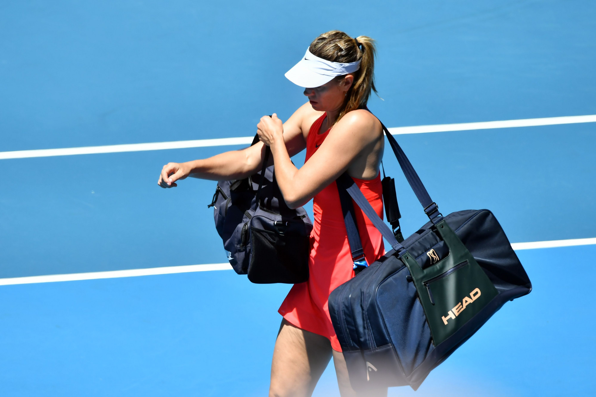 Maria Sharapova admitted she may not return to the Australian Open following her defeat ©Getty Images