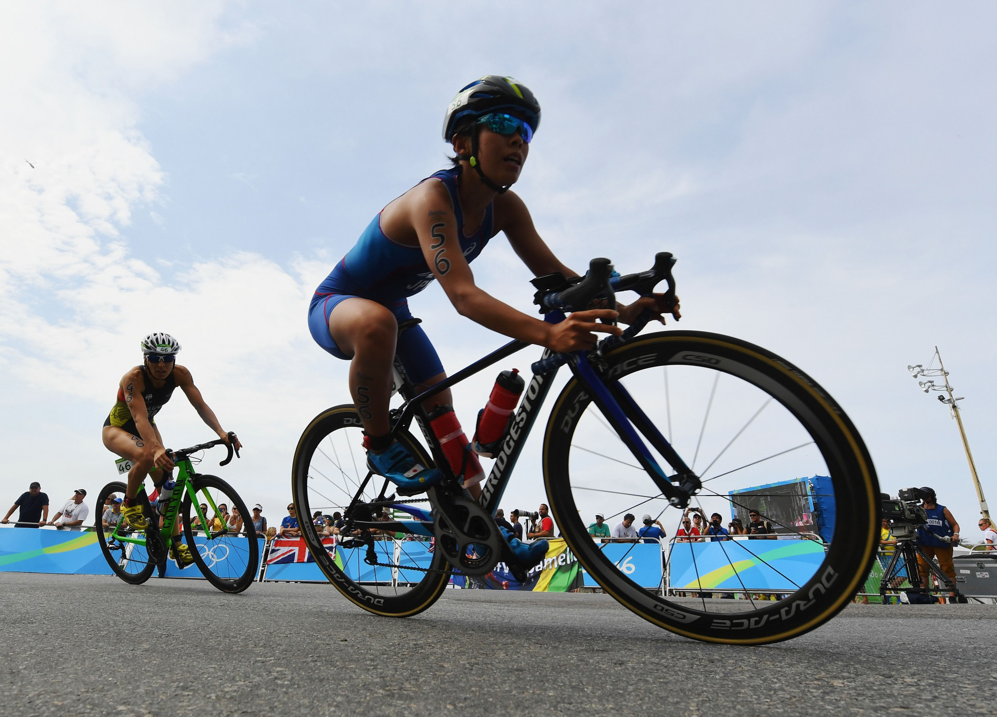 Ai Ueda is aiming to qualify for Tokyo 2020, her fourth Olympic Games ©Getty Images