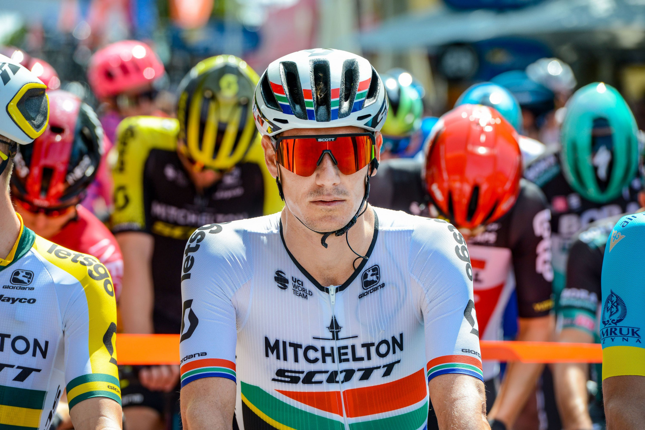 Back-to-back general classification winner Daryl Impey endured mechanical problems ©Getty Images