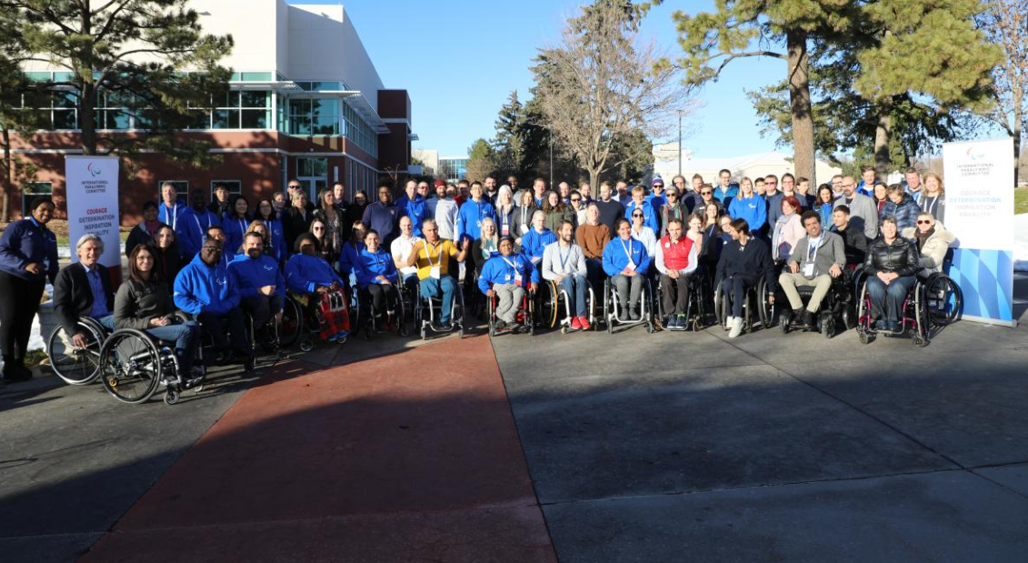 The second edition of the IPC Athletes' Forum took place at the US Olympic Training Centre in Colorado Springs in November ©Cady Lowery/USOPC