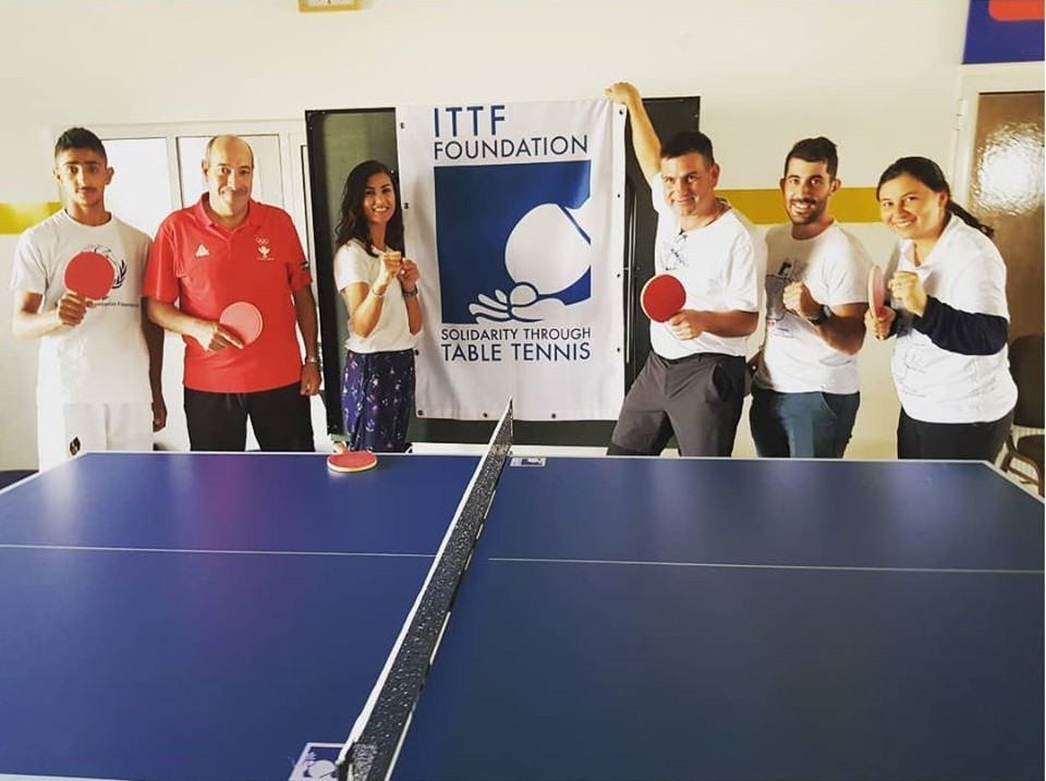The visit came on the back of the THF signing a Memorandum of Understanding with the ITTF in November 2018 ©Taekwondo Humanitarian Foundation/Facebook