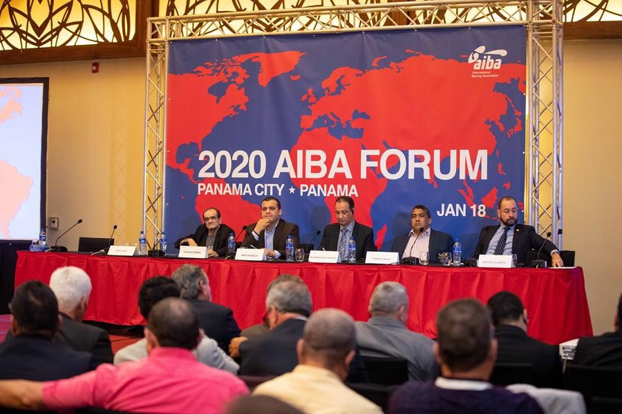 The inaugural AIBA Continental Boxing Forum took place in Panama ©AIBA