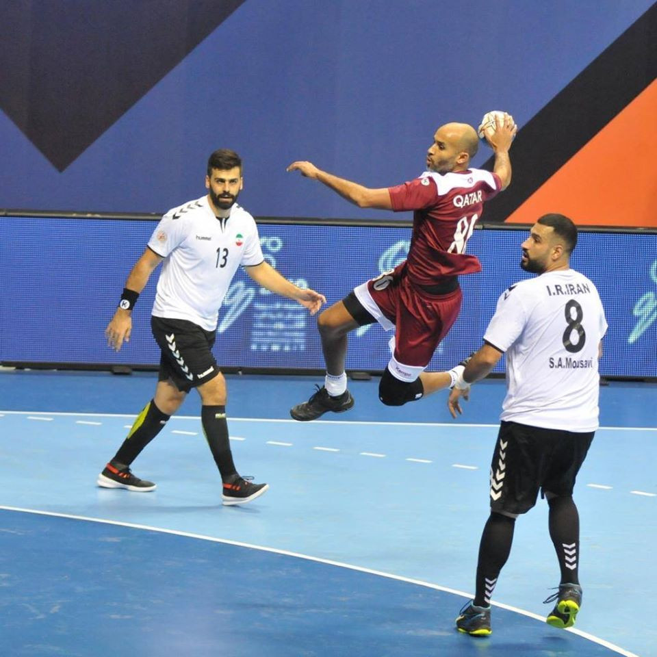 Holders Qatar reach semi-finals at Asian Men's Handball Championship