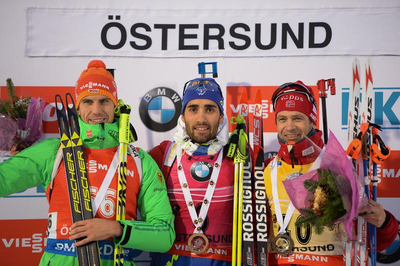 Defending IBU World Cup champion Fourcade sprints to dominant win in Östersund