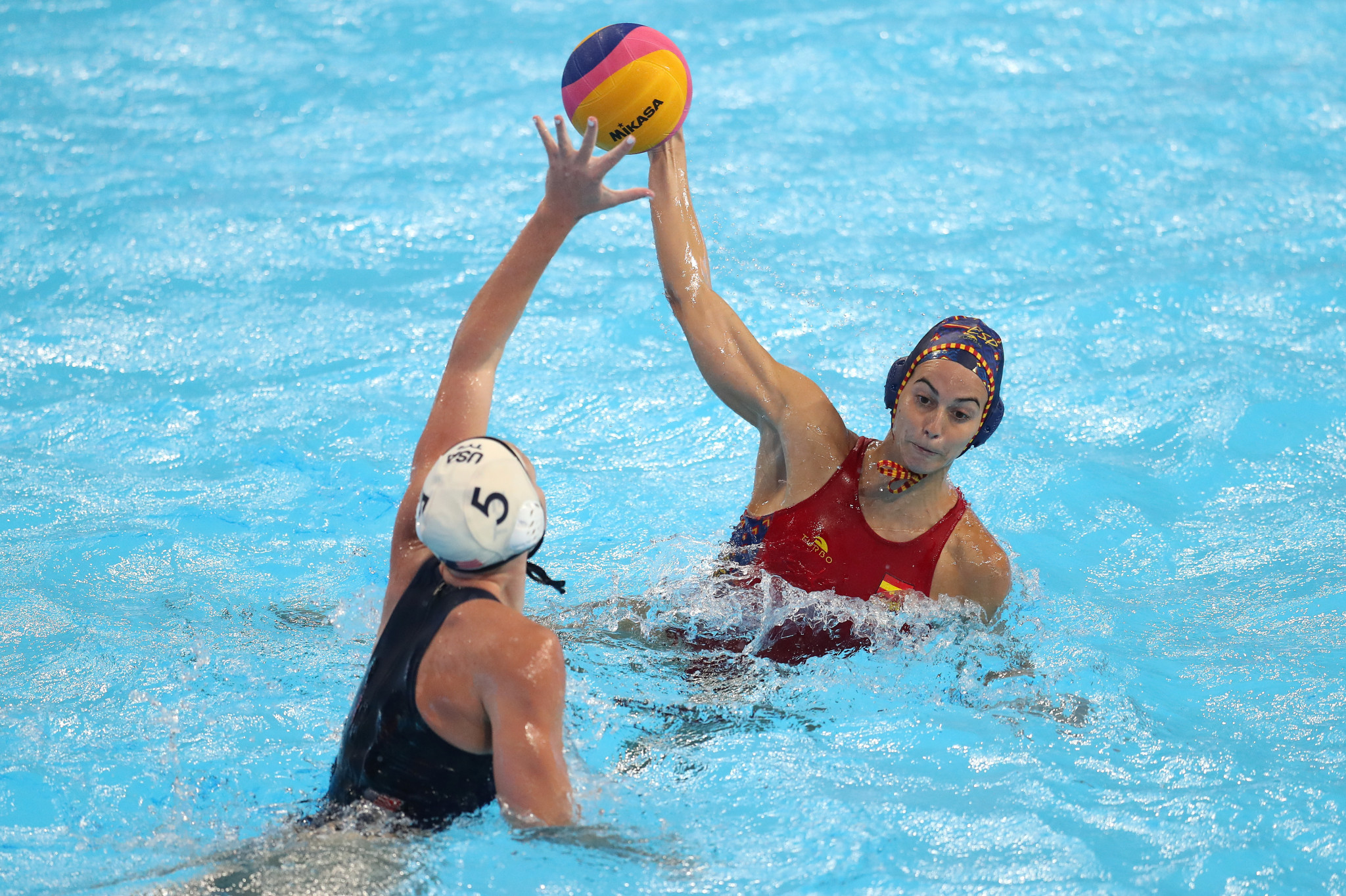 Spain edge into Women's European Water Polo Championship semi-final
