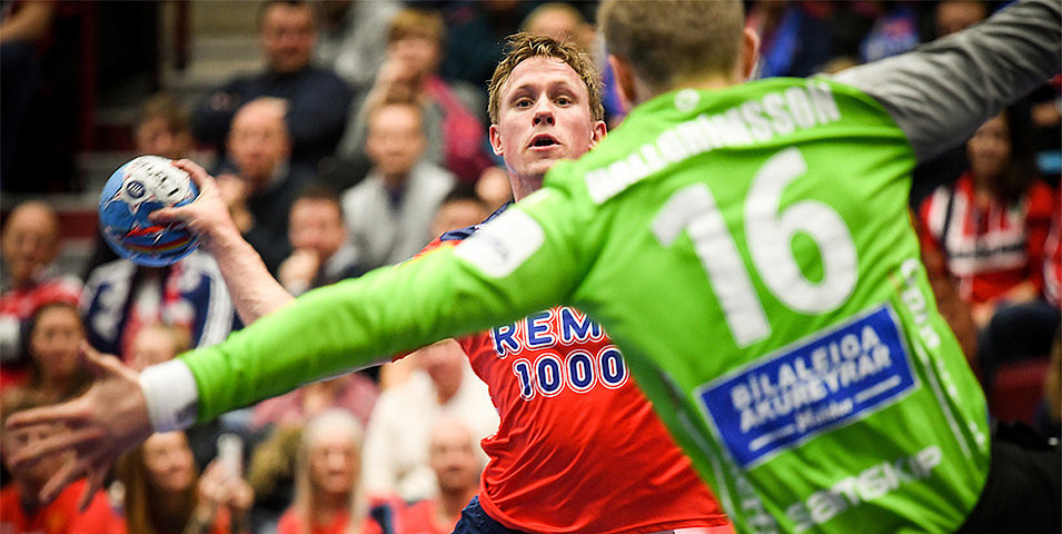 Norway held off a second-half fightback from Iceland to stay unbeaten at the European Men's Handball Championship ©EHF/Nebojsa Tejic/Kolektiff