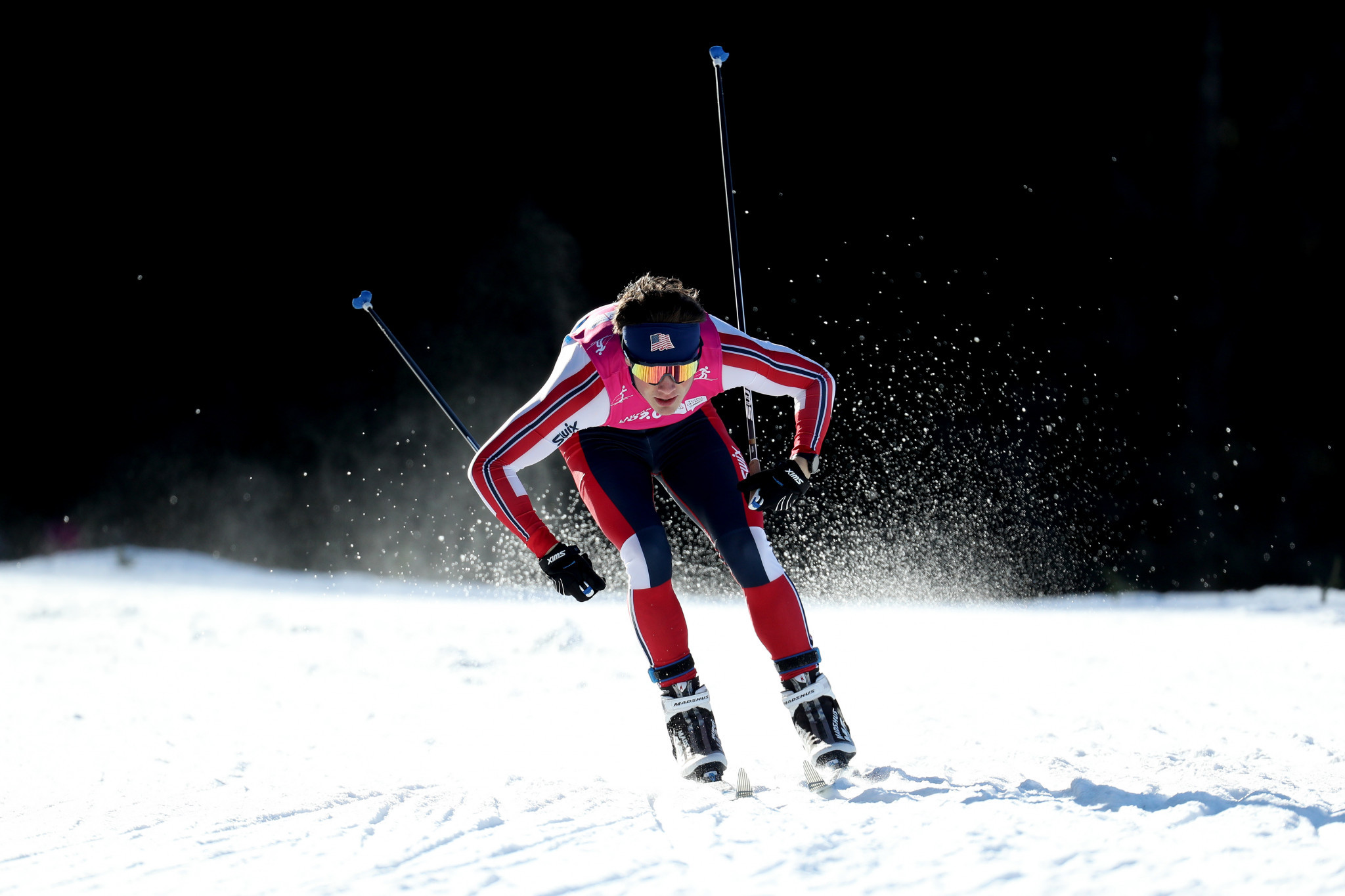The final cross-country skiing races of the Games were held ©Getty Images