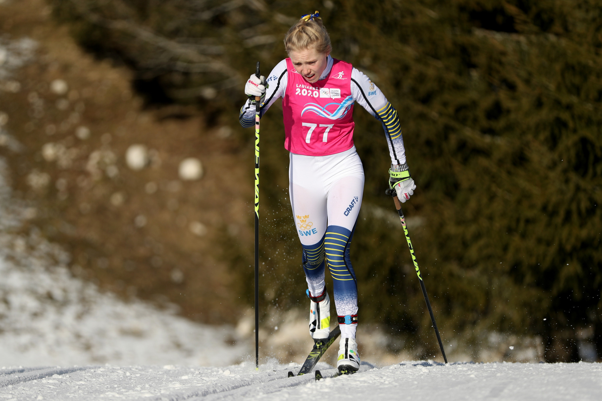 Sweden's Maerta Rosenberg won her first gold after previous silver and bronze medal finishes ©Getty Images