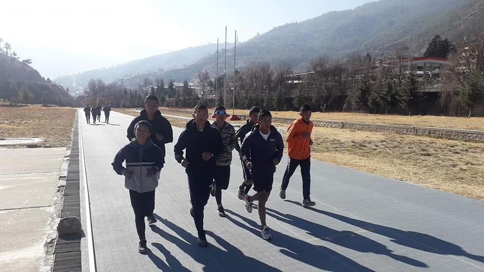 Fifty athletes take part in Bhutan athletics training camp