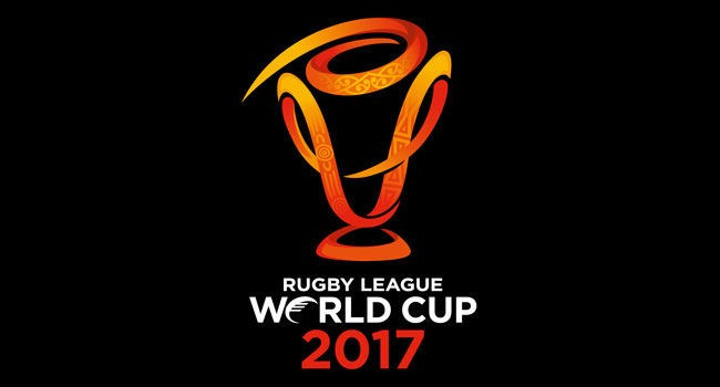 The official logo of the 2017 Rugby League World Cup has been revealed to mark two years to go until the final of the competition ©RLWC2017