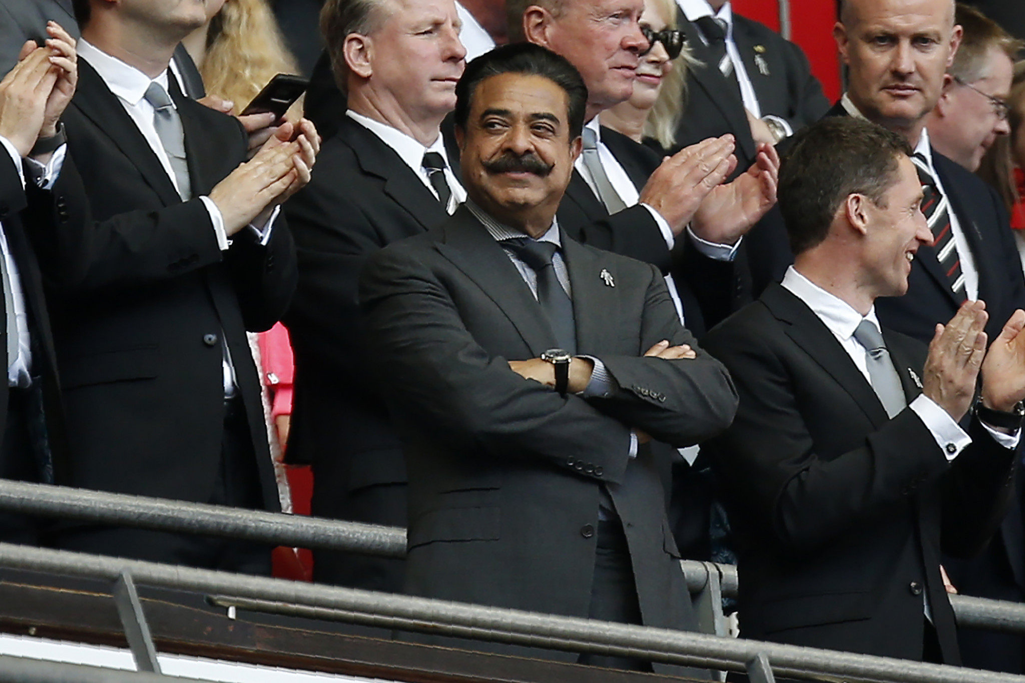 Shahid Khan also owns Fulham and purchased the club from Mohamed Al Fayed in 2013 ©Getty Images