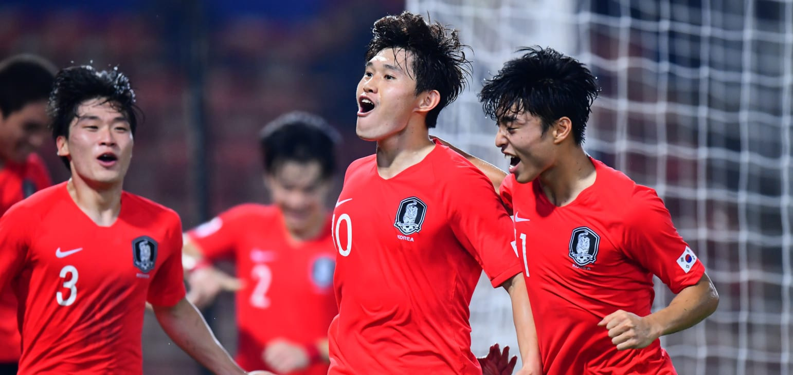 South Korea and Saudi Arabia qualify for Tokyo 2020 men's football tournament