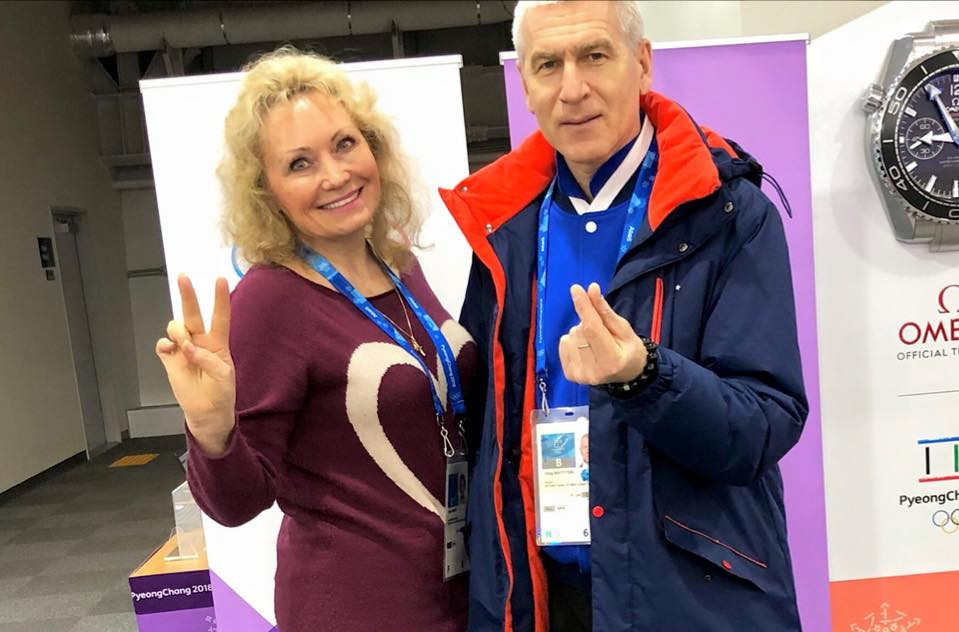 Russian Bobsleigh President Elena Anikina, left, has praised the appointment of International University Sports Federation President Oleg Matytsin, right, as Russia's new Sports Minister ©Facebook