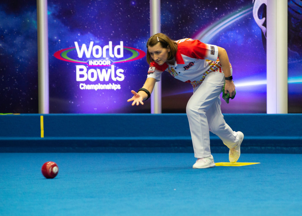 Defending champion Forrest through to women's singles final at World Indoor Bowls Championships