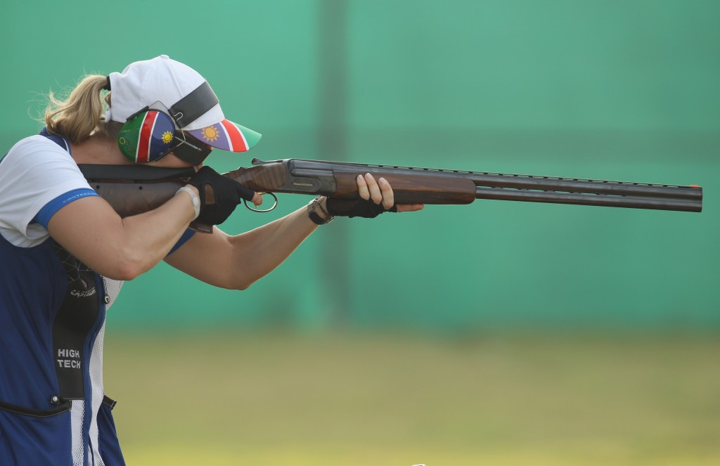 Namibian and Egyptian shooters earn Rio 2016 quota places with victories at African Shooting Championships
