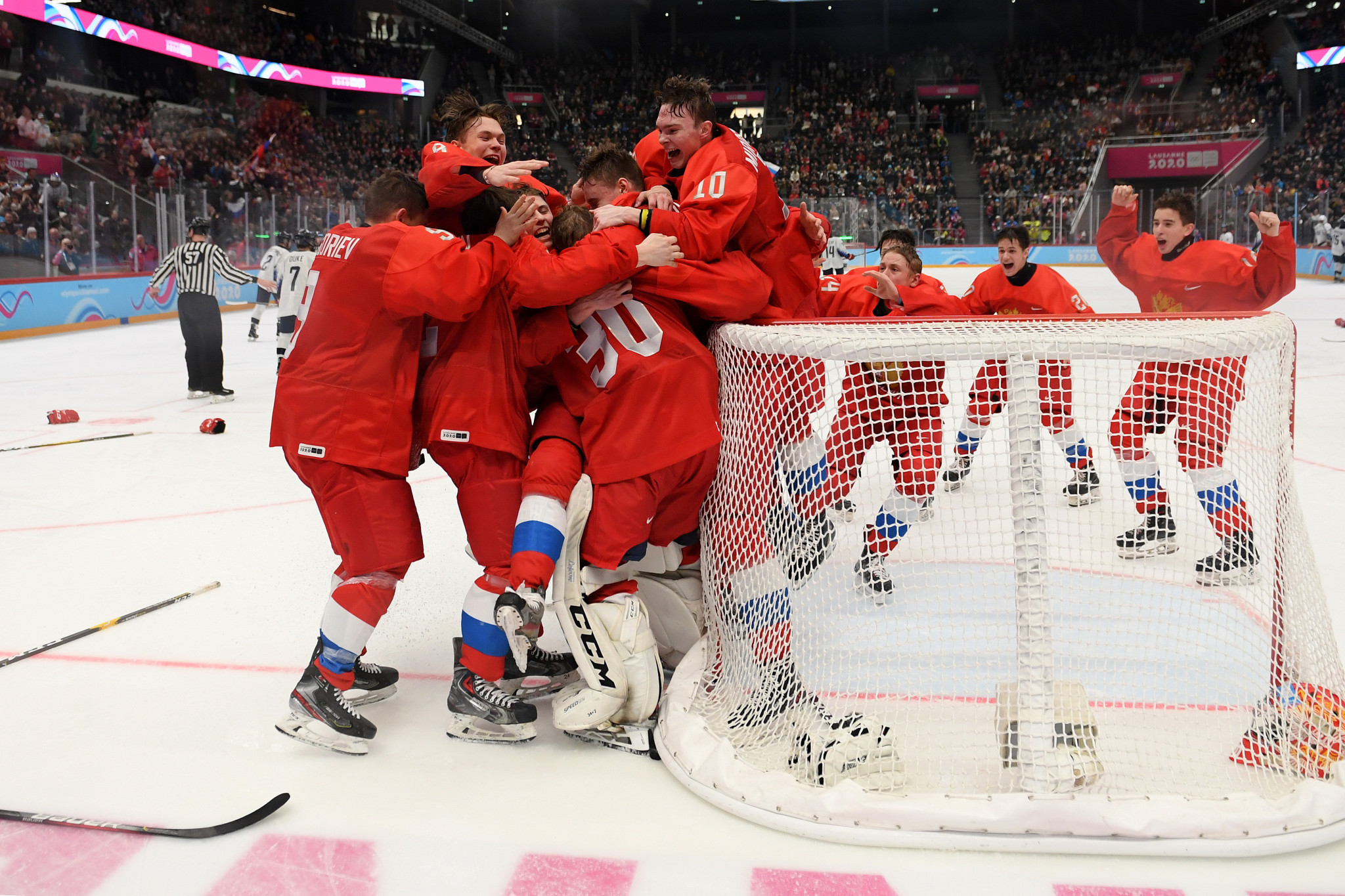 Russia won the final gold medal of Lausanne 2020 ©Getty Images