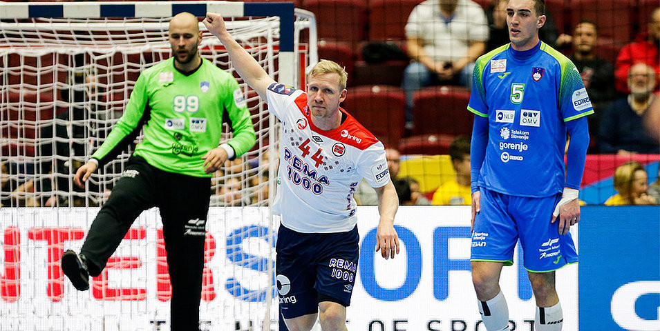 Slovenia complete semi-final line-up at European Men's Handball Championship