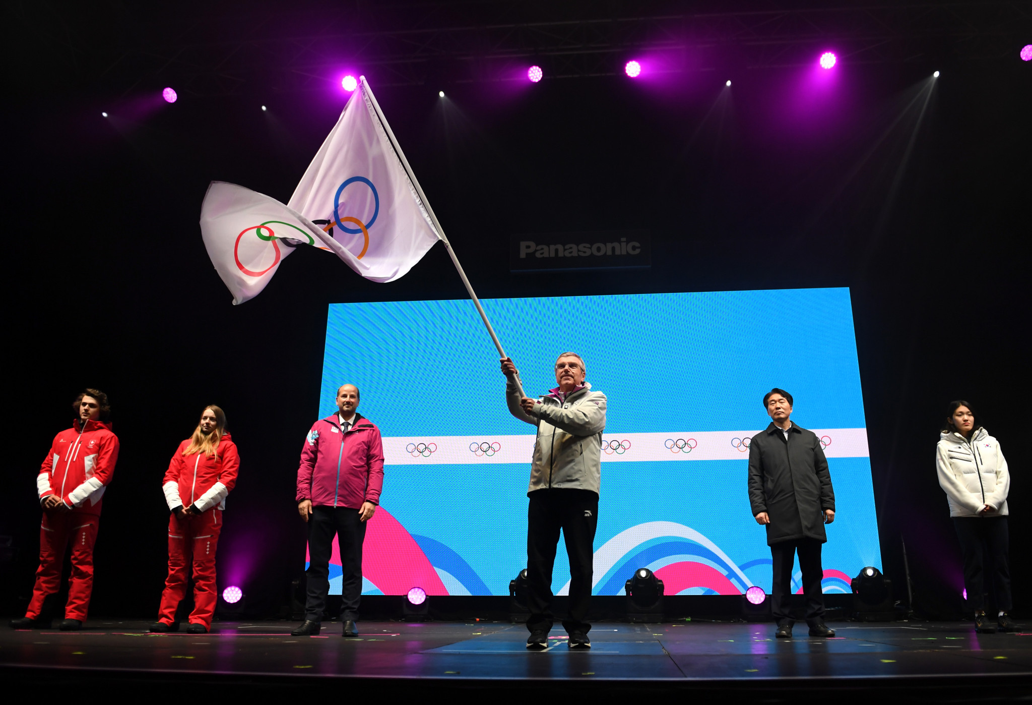 IOC President Thomas Bach closed the third edition of the Winter Youth Olympics ©Getty Images