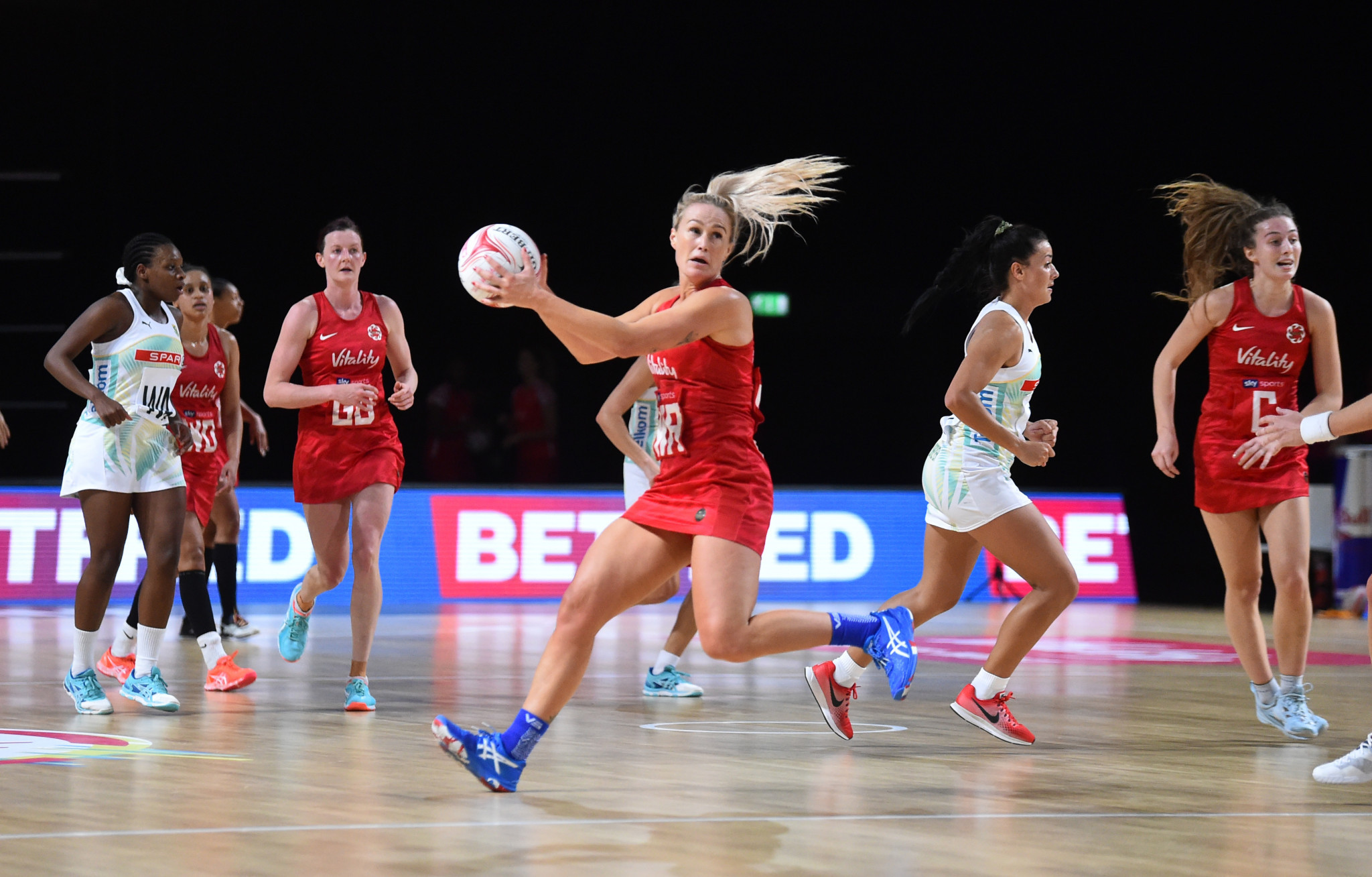 England keep Netball Nations Cup alive with South African win