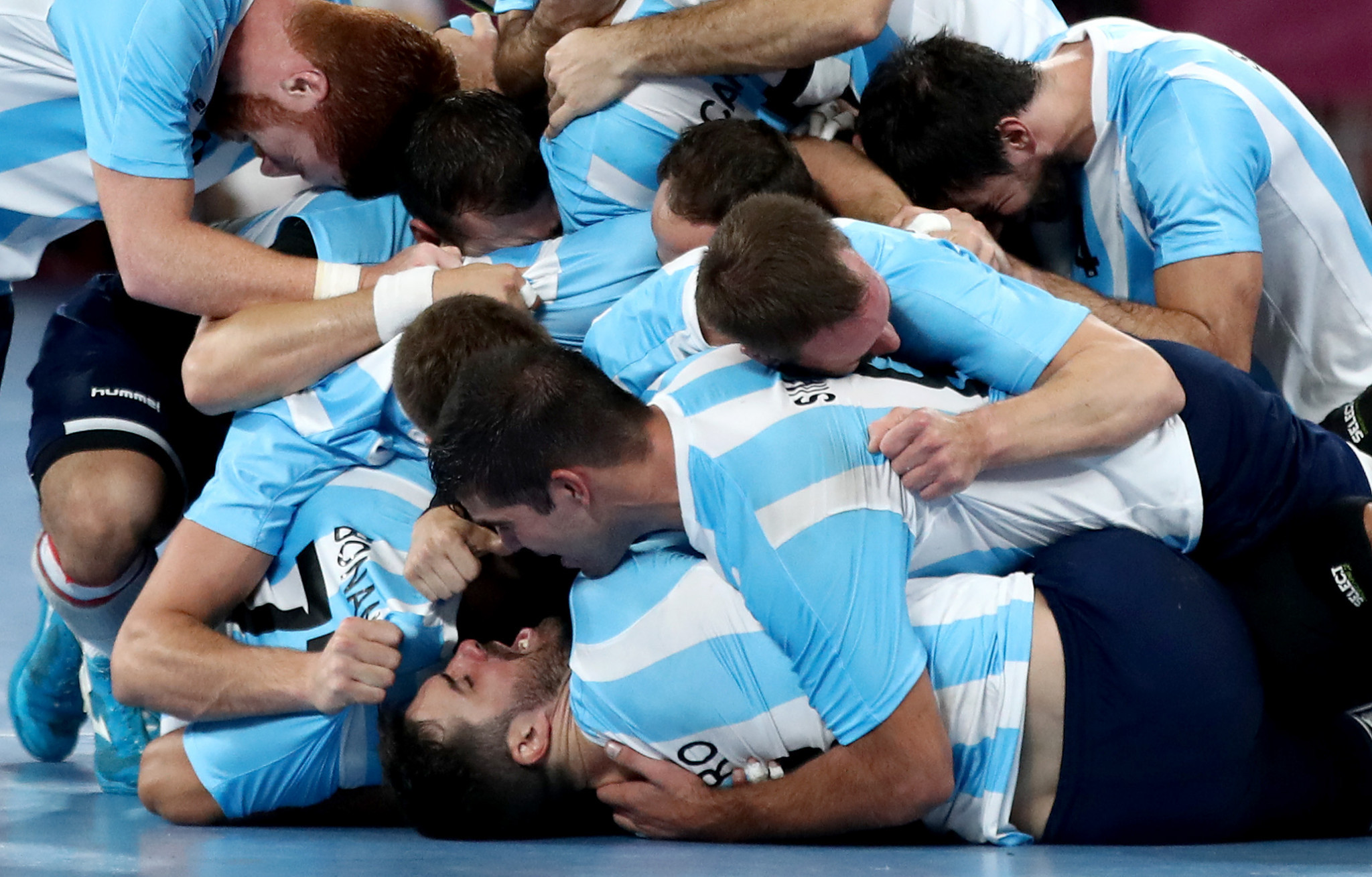 Argentina beat Uruguay to claim their second win ©Getty Images