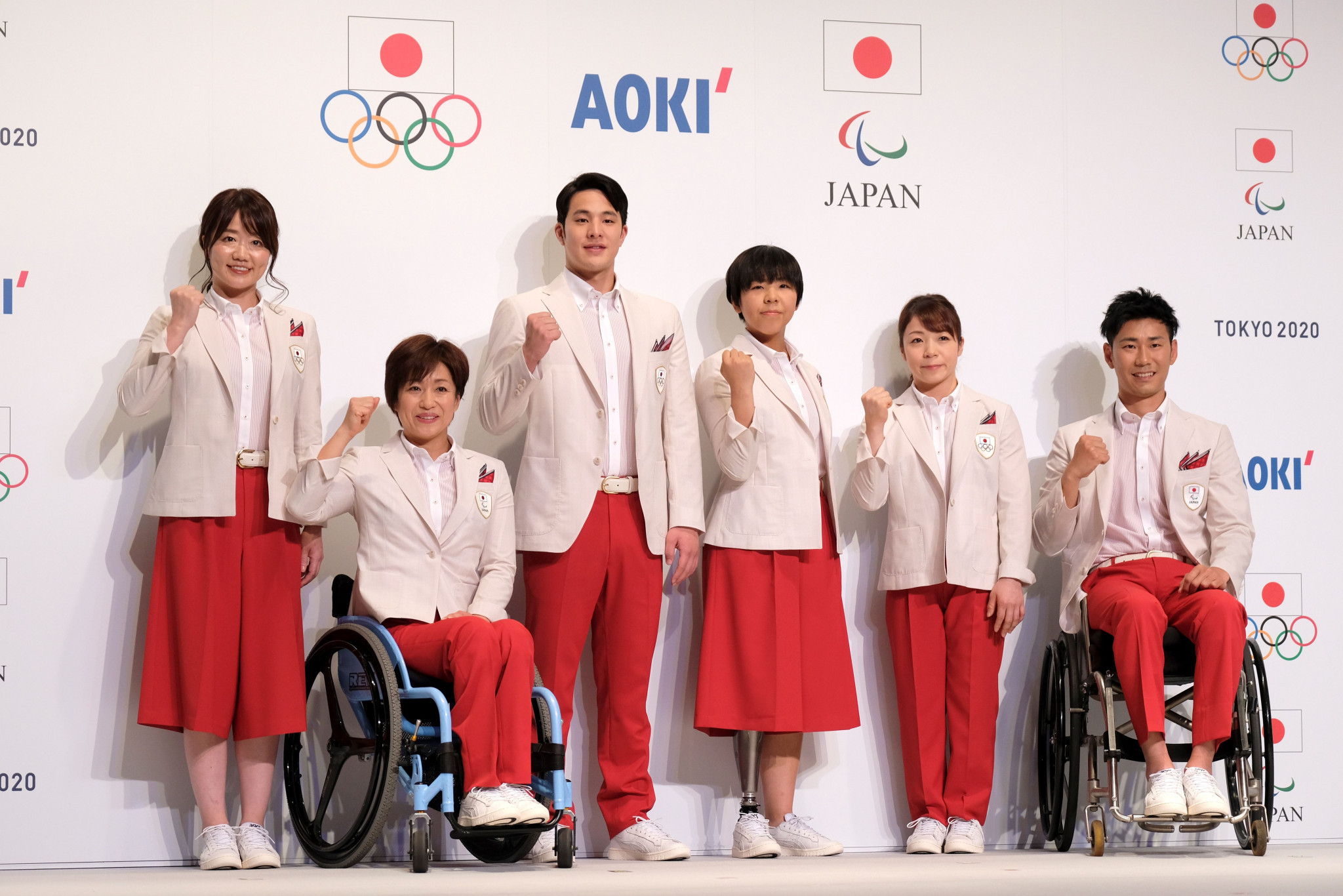 Japan's Olympic and Paralympic Ceremonies uniforms unveiled