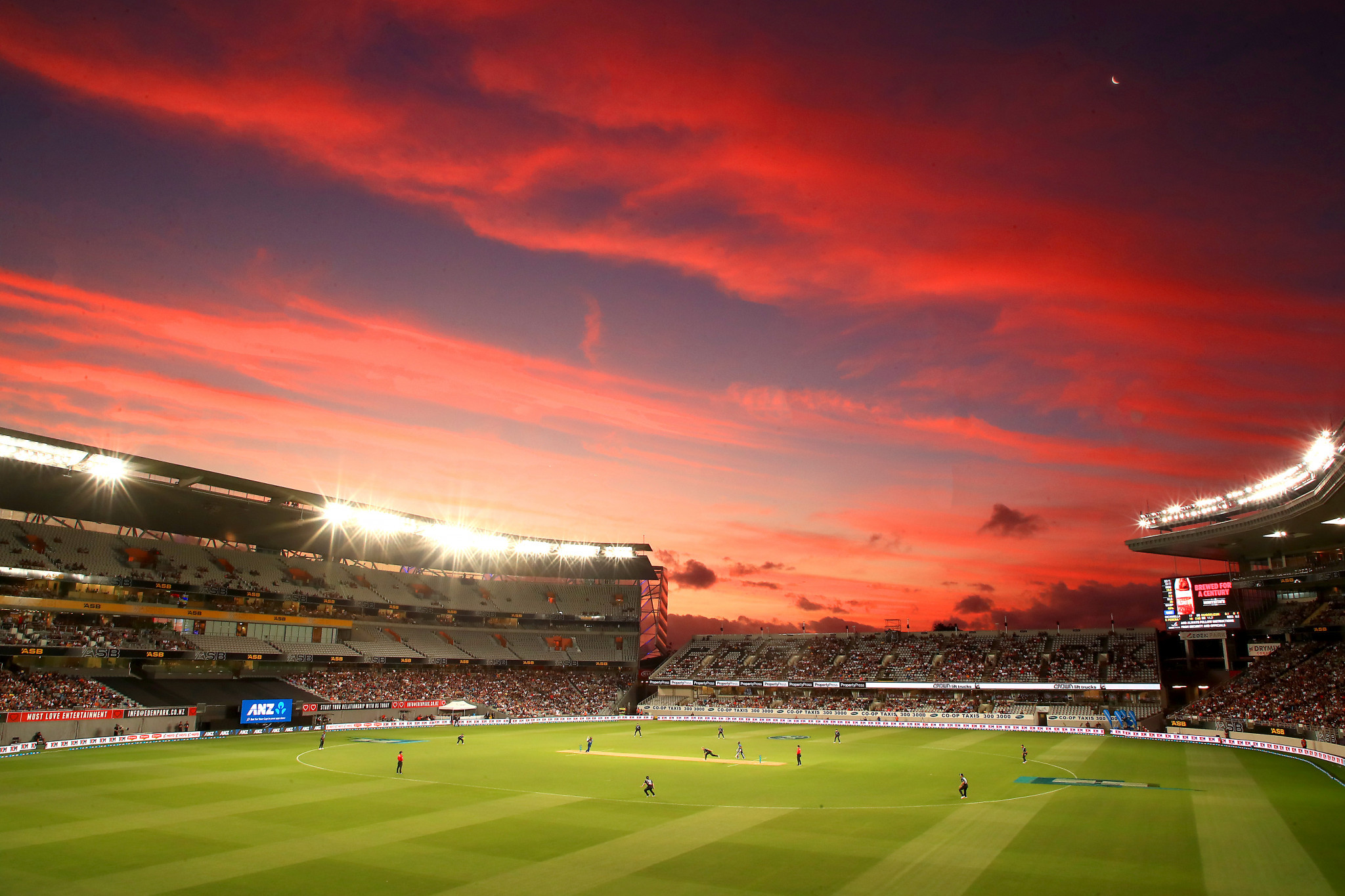 Auckland's Eden Park will stage a