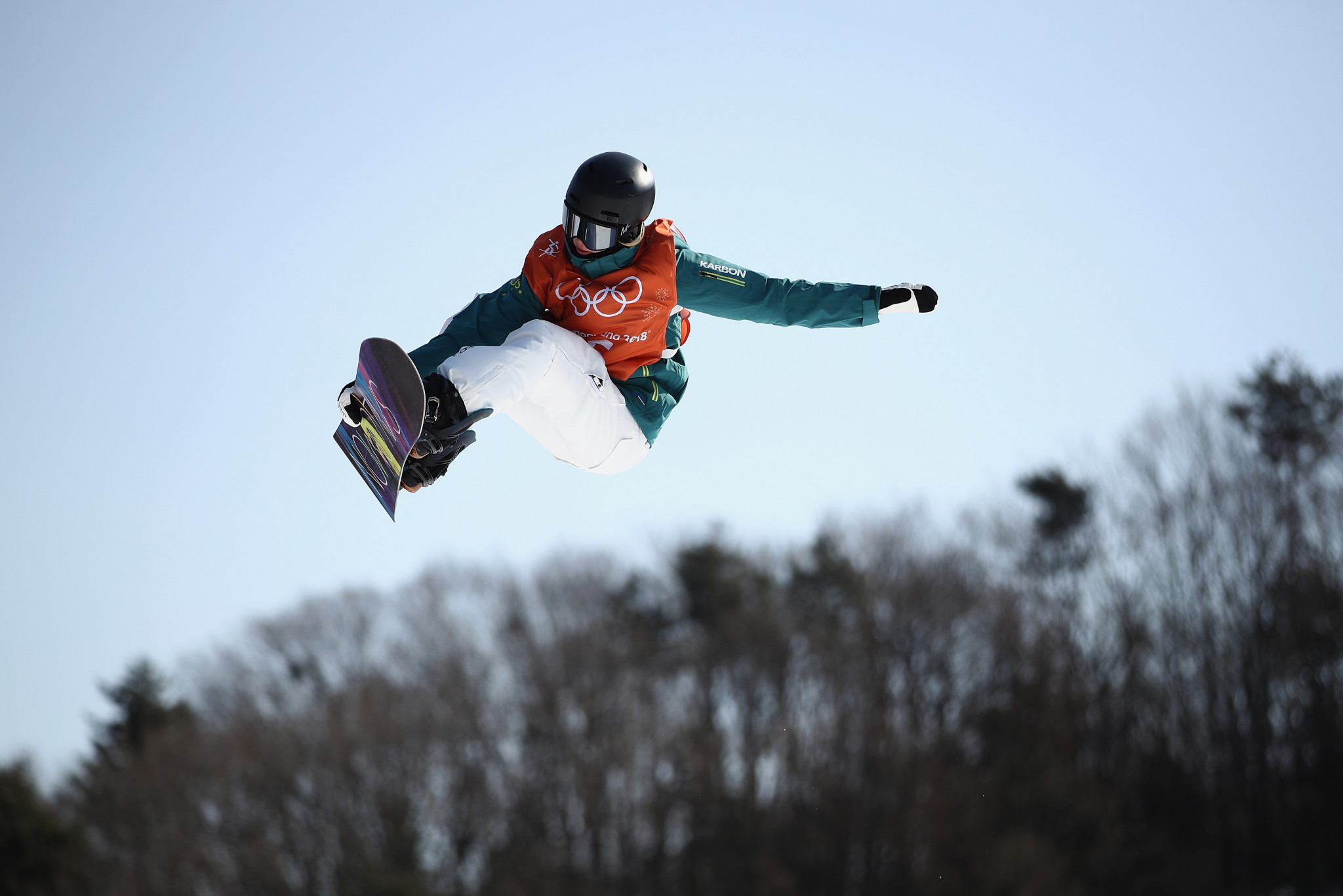 Australia's Tess Coady outshone her rivals in the women's slopestyle event ©Getty Images