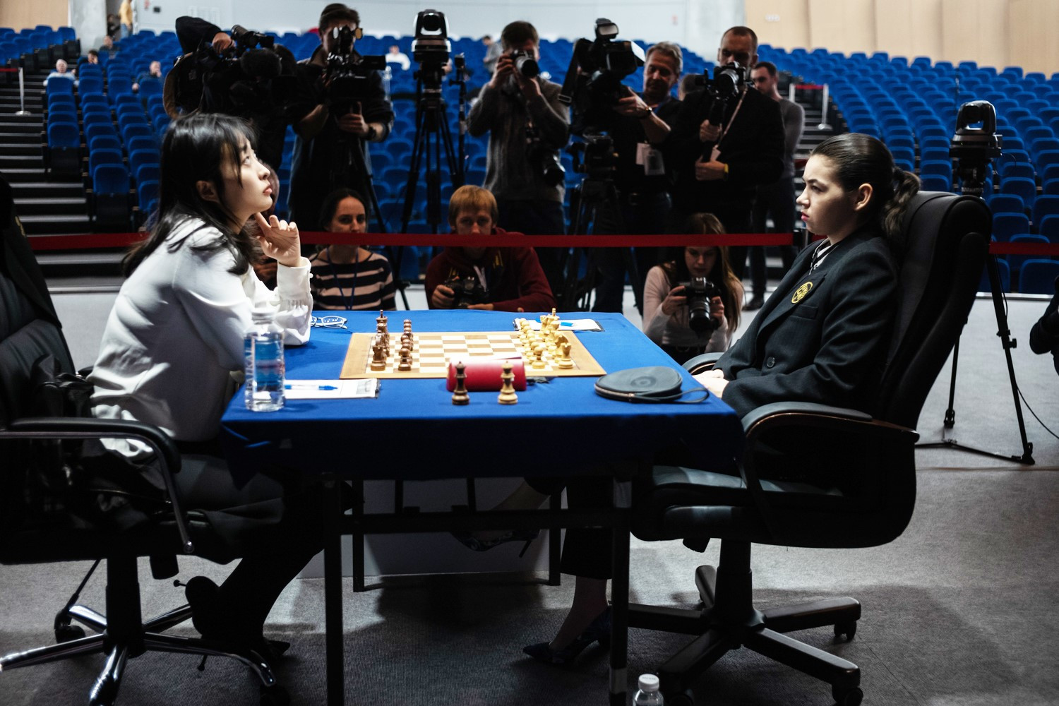 Goryachkina wins to send Women's World Chess Championship to tiebreaks