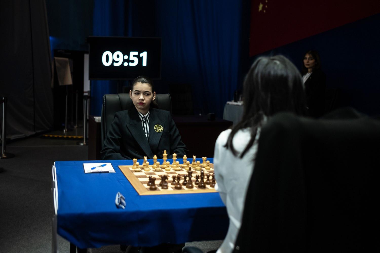 Aleksandra Goryachkina played a great strategy in her must-win match ©FIDE